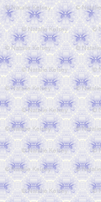 Lotus Kaleidoscope-- Blue 2