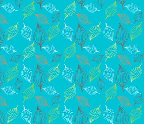 boba_teal_lg fabric by monicaleestudios on Spoonflower - custom fabric