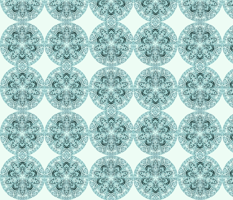 snow_kaleidoscope fabric by uzumakijo on Spoonflower - custom fabric