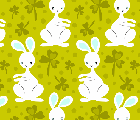 easter_bunnies3 fabric by renule on Spoonflower - custom fabric