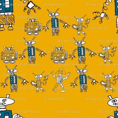 Robot Series- Medium- Orange