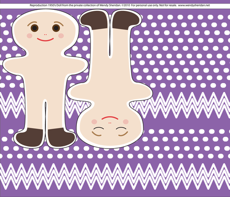 doll1 fabric by wendysheridan on Spoonflower - custom fabric
