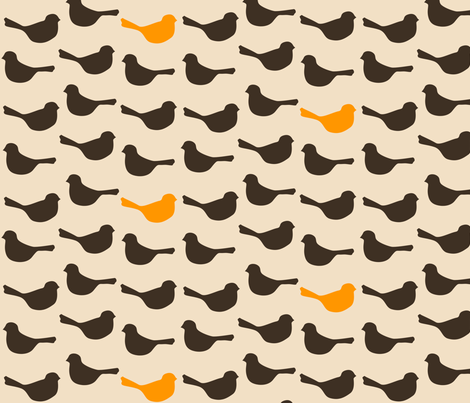 birds_mod fabric by avelis on Spoonflower - custom fabric