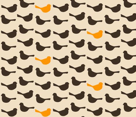 birds_mod fabric by avelis on Spoonflower - custom fabric