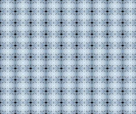 Lacy Raccoon footprints in the snow fabric by atomicgrandma on Spoonflower - custom fabric