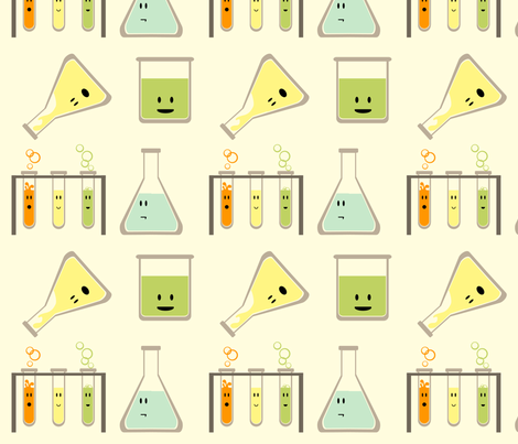 mad science fabric by avelis on Spoonflower - custom fabric