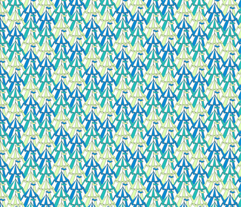 pavillions_aqua_pale_green fabric by jojoebi_designs on Spoonflower - custom fabric