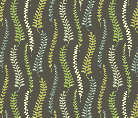 fernyforest fabric by kimkim on Spoonflower - custom fabric