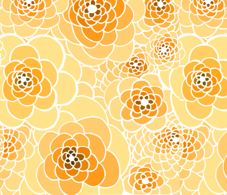 Virginia Rose fabric by katty on Spoonflower - custom fabric