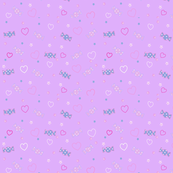 Unicorn Fantasy Candy Repeat Lavender