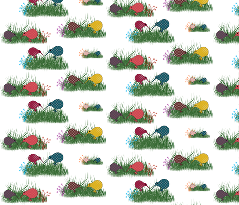 kiwi_dot fabric by snork on Spoonflower - custom fabric