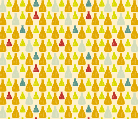 Chemistry Lab fabric by maker_maker on Spoonflower - custom fabric
