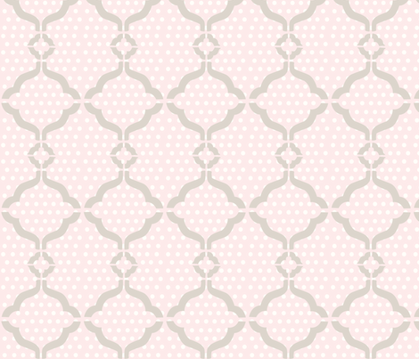 Harper Lattice fabric by thehandmadehome on Spoonflower - custom fabric