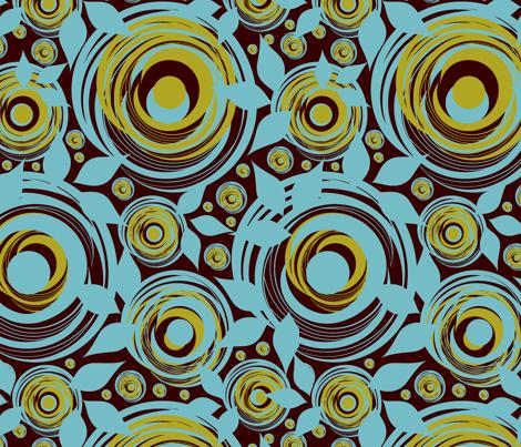 Diana-babycarrier fabric by shanperrym on Spoonflower - custom fabric
