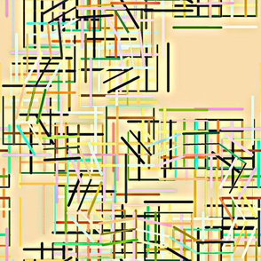 Connected_Squares_Peachy Yellow