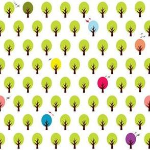 confetti forest