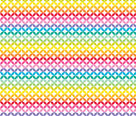 Happy Trellis Spectrum fabric by carinaenvoldsenharris on Spoonflower - custom fabric