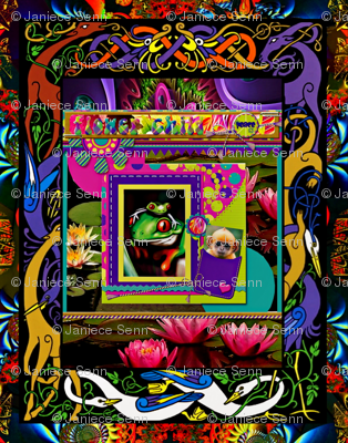 Psychedelic Monkey Surprise