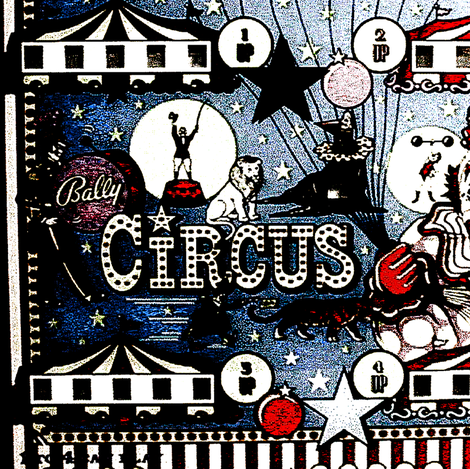 Vintage Circus fabric by whimzwhirled on Spoonflower - custom fabric