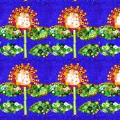 Corn candy, garden row.