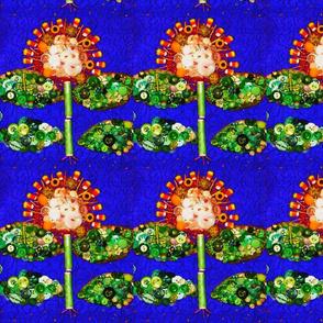 Garden Row Candy Cornflowers