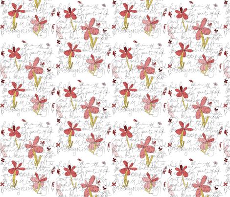 appreciate_friendsw_flowers2 fabric by storyline on Spoonflower - custom fabric