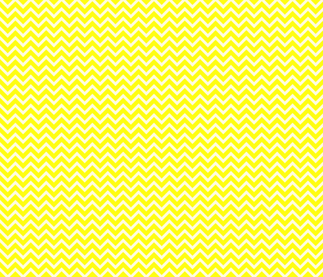 lemon chevron fabric by amybethunephotography on Spoonflower - custom fabric