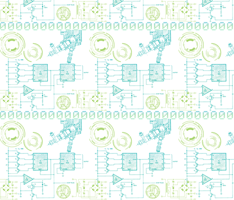 Technobable fabric by annaoni on Spoonflower - custom fabric