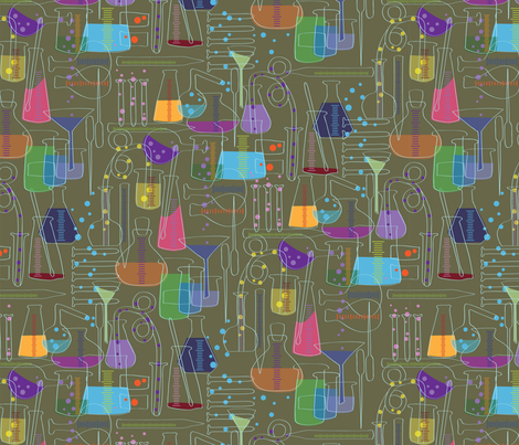 Glass Menagerie fabric by sammyk on Spoonflower - custom fabric