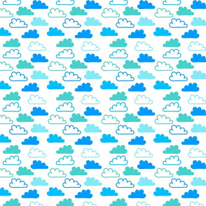 Happy Blue Clouds