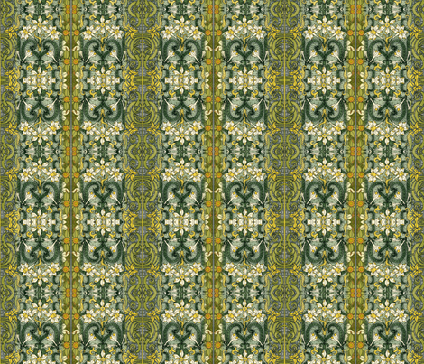 Spring fabric by whimzwhirled on Spoonflower - custom fabric