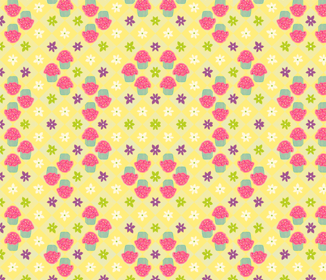 Little Cupcakes fabric by cksstudio80 on Spoonflower - custom fabric