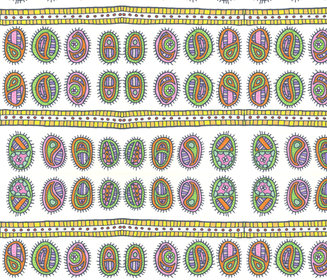 bacteriacolony3 fabric by jkayep2 on Spoonflower - custom fabric