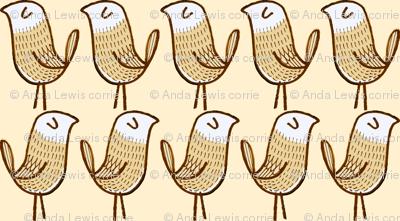 maize marching birds