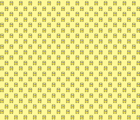 school bus fabric by anda on Spoonflower - custom fabric