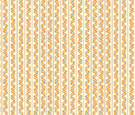 DNA Stripes fabric by nicholeann on Spoonflower - custom fabric