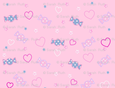 Unicorn Fantasy Candy Repeat Baby Pink