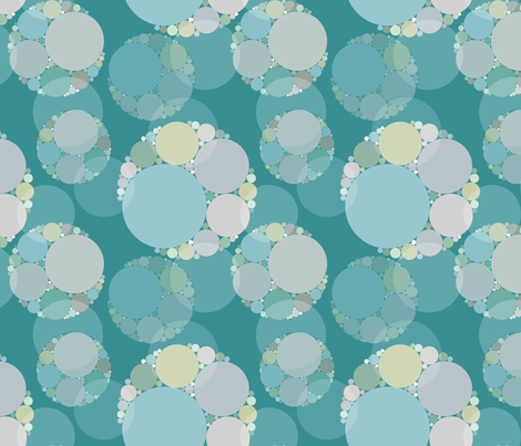 Apollonian gasket fabric by tilde on Spoonflower - custom fabric