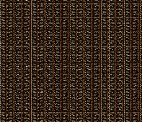 beetgroove2_blk fabric by backyarddesigns on Spoonflower - custom fabric