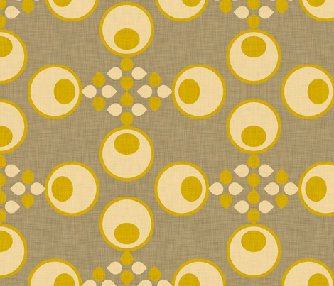 olives linen fabric by holli_zollinger on Spoonflower - custom fabric