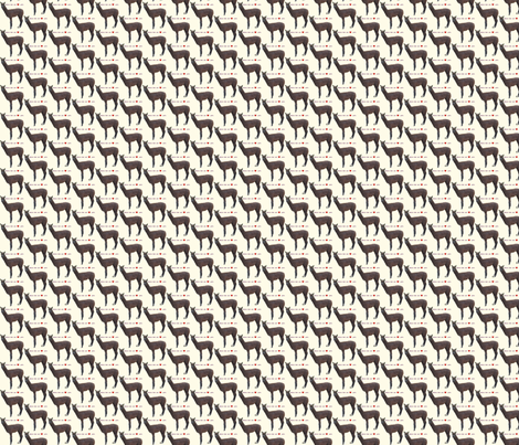 Alpacas Warm Your Heart fabric by alpaca_lady on Spoonflower - custom fabric
