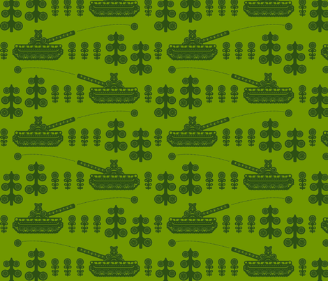 panssari fabric by ruusulampi on Spoonflower - custom fabric