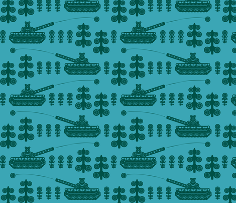 puskantakaa fabric by ruusulampi on Spoonflower - custom fabric