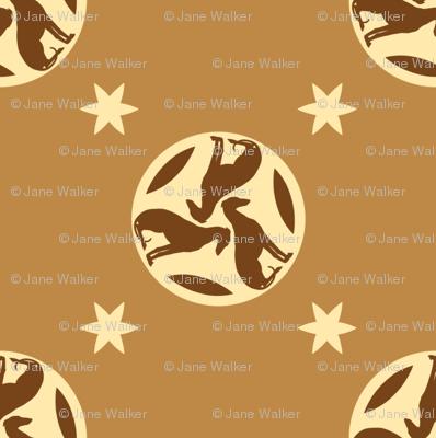 Golden Brown Greyhounds GG3s    ©2010 by Jane Walker  ©2010 by Jane Walker