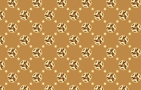 Golden Brown Greyhounds GG3s    ©2010 by Jane Walker  ©2010 by Jane Walker fabric by artbyjanewalker on Spoonflower - custom fabric