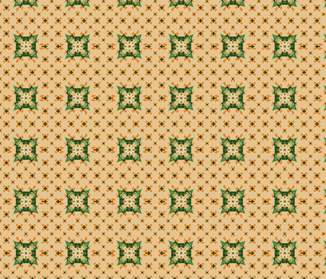 canvas_cr_tan_green_FotoFlexer_Photo fabric by khowardquilts on Spoonflower - custom fabric
