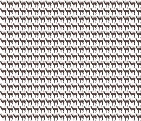 Alpacas Warm Your Heart--ch fabric by alpaca_lady on Spoonflower - custom fabric