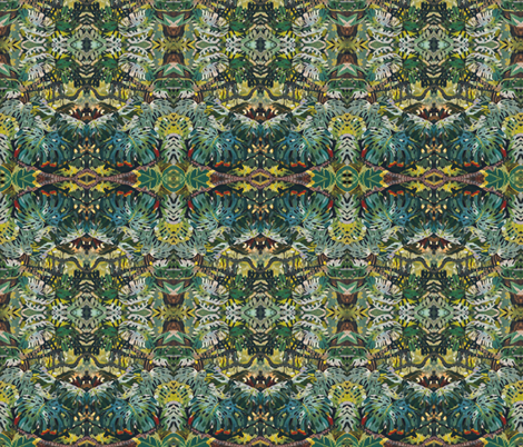 It's a Jungle Out There fabric by whimzwhirled on Spoonflower - custom fabric