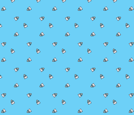 airmail fabric by anda on Spoonflower - custom fabric