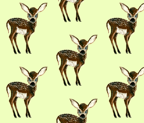 Fawn fabric by taraput on Spoonflower - custom fabric